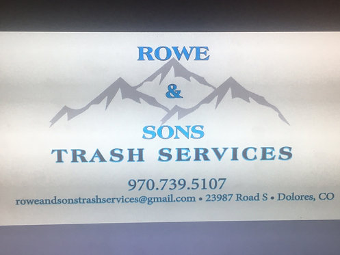 Rowe & Sons Trash Service