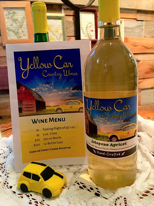 Apricot Jalapeno Wine
