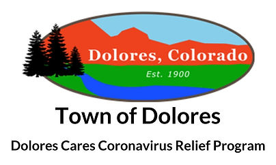 Town of Dolores Coronavirus relief progr