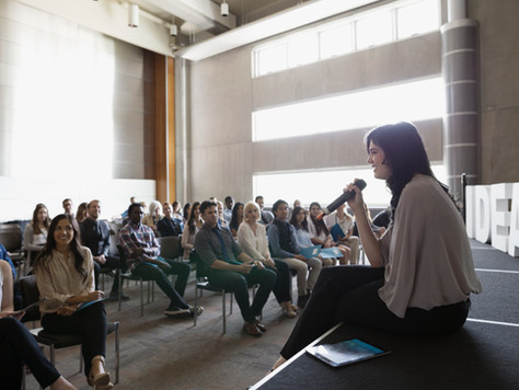 Public Speaking: How to sound confident (even when you don't feel it!)