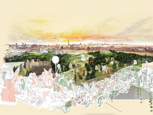 THAMESMEAD WATERFRONT COMPETITION WIN 04.2021