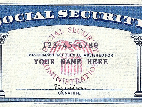 How do I get a social security number if I live outside the US?