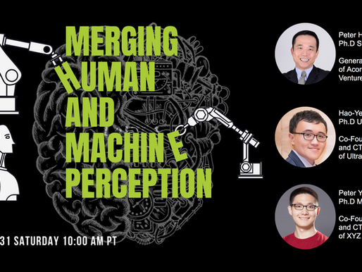 Merging Human and Machine Perception -10-31-2020