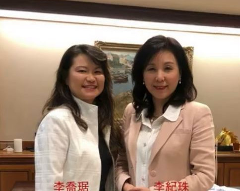 美西玉山副理事長 Maggie 與台灣玉山/全球玉山理事長李紀珠面對面