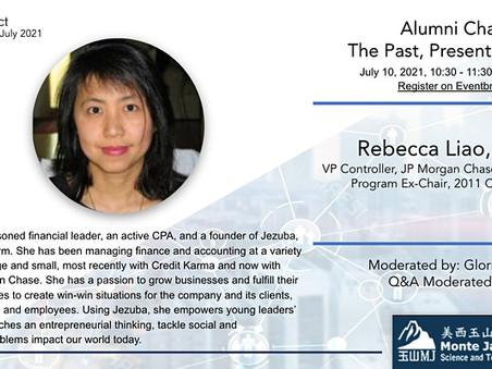 7/10 - Alumni Chat: The Past, Present, Future