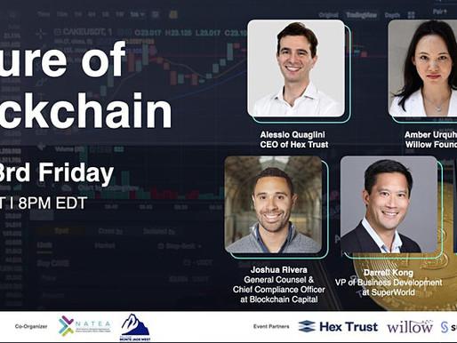 7/23 - Special Forum: Future of Blockchain & Crypto