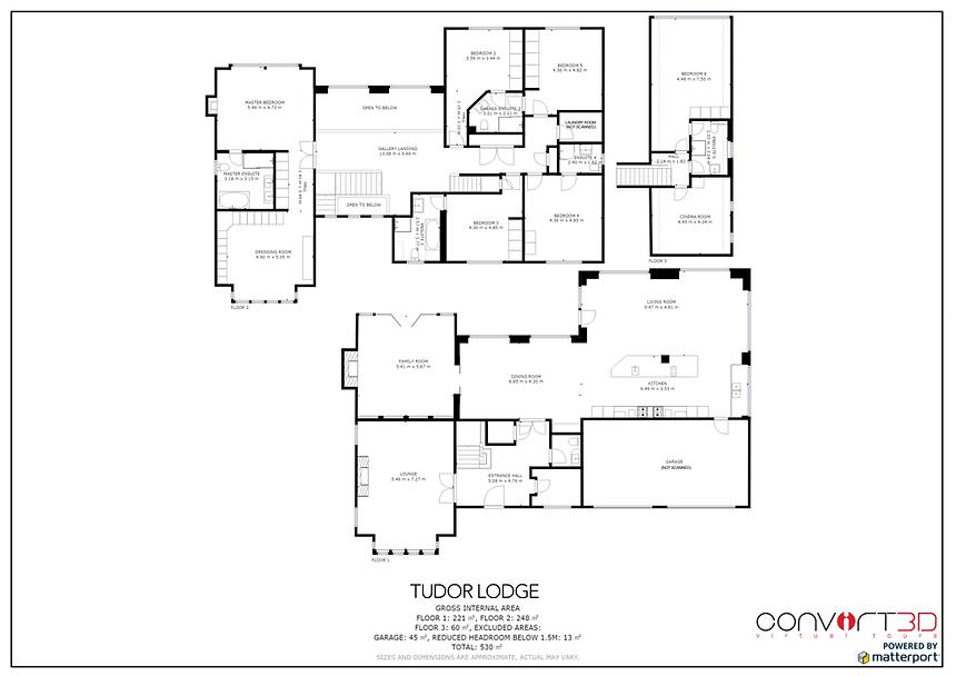 Matterport Schematic Floorplans