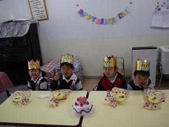 3月のお誕生会 おめでとうございます!