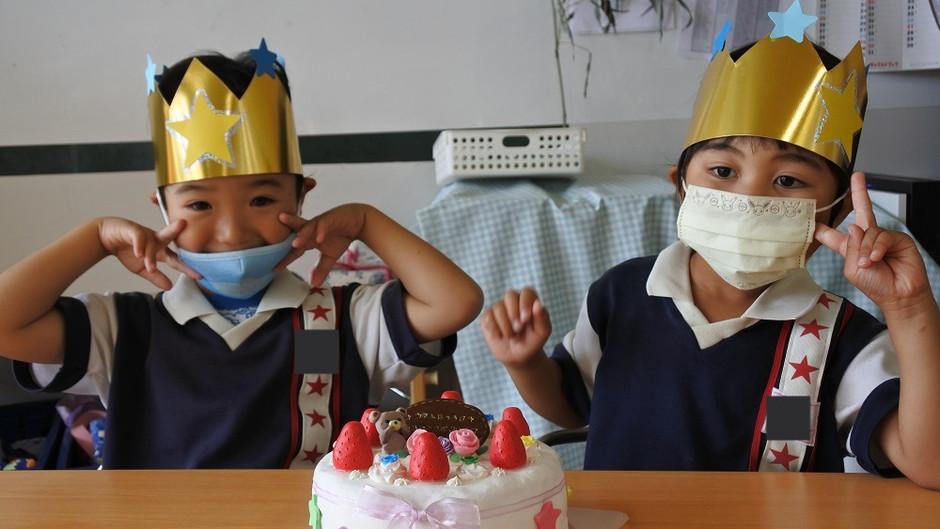 6月のお誕生会 誕生日おめでとうございます