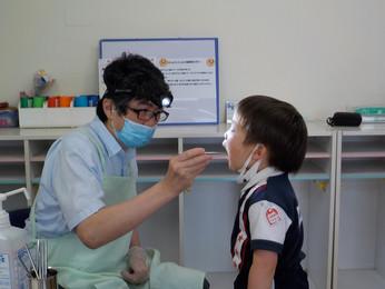歯科検診でほめられました