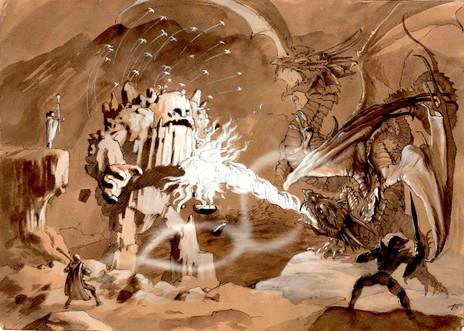 Black Dragon Battle
