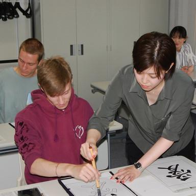 Instructor teaching