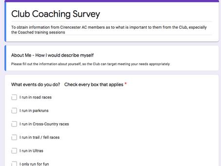 Club Survey Results