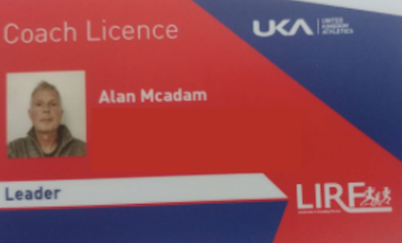 """Alan gains """"Leader in Running Fitness"""" coaching qualification"""