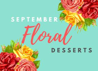 Floral Desserts for Spring