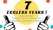 7 Eggless Years!!