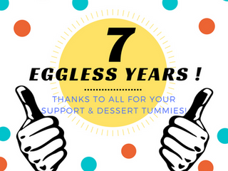 7 Eggless Years!!
