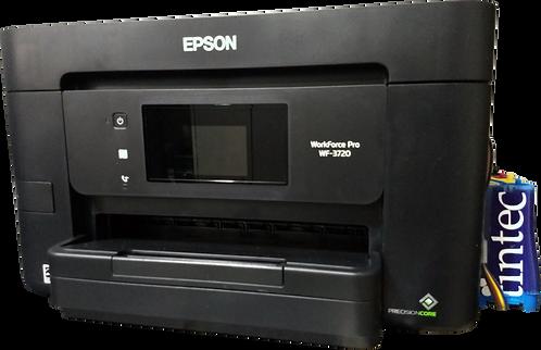 Multifuncional Epson WF3720 con Sistema de Tinta Continua