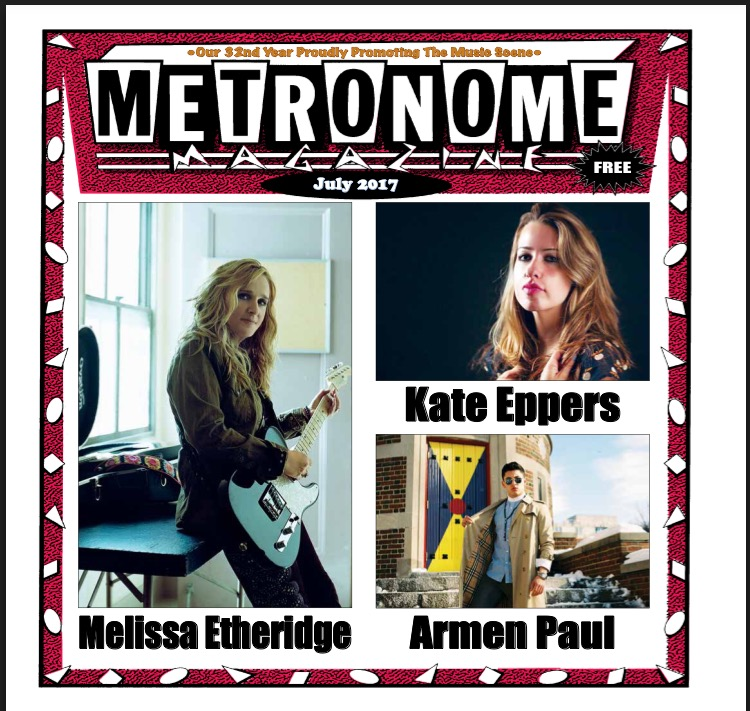 metronome magazine-july issue