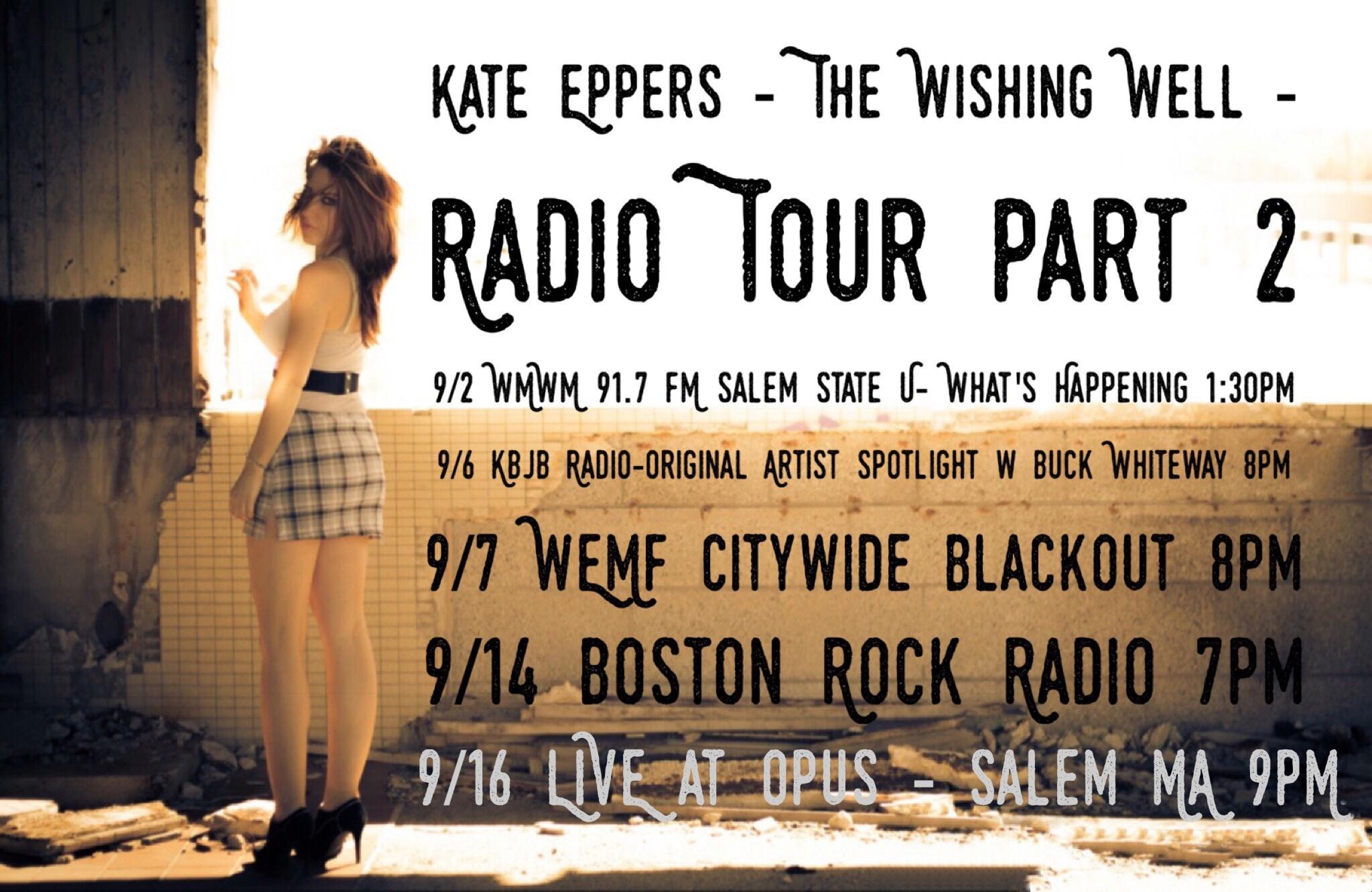 Radio tour 1