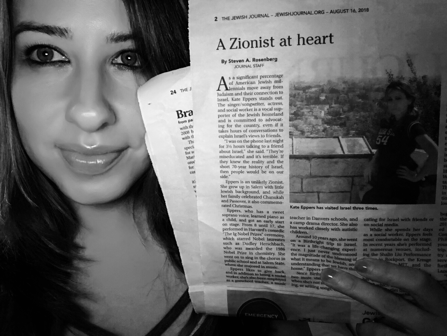Jewish journal feature