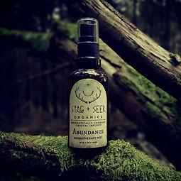 organic aromatherapy sprtay mist crystal infused elixir