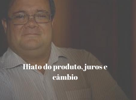 Hiato do produto, juros e câmbio (Diário de Comércio e Indústria, 22/02/2018)