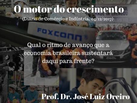 O motor do crescimento (Diário de Comércio e Indústria, 04/12/2017)