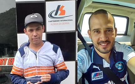 Equipe Ligier - Edvaldo Pereira e Jason
