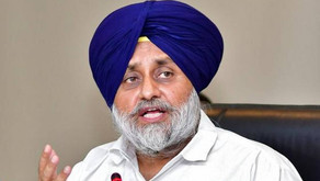 Sukhbir  Badal courts arrest after sit-in close to barricaded Raj Bhawan