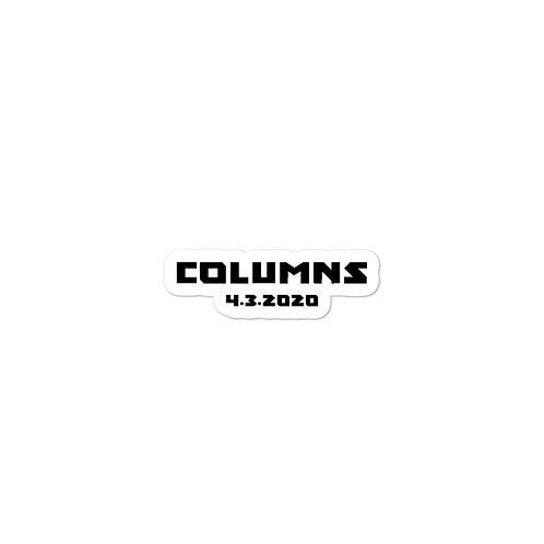Columns Sticker