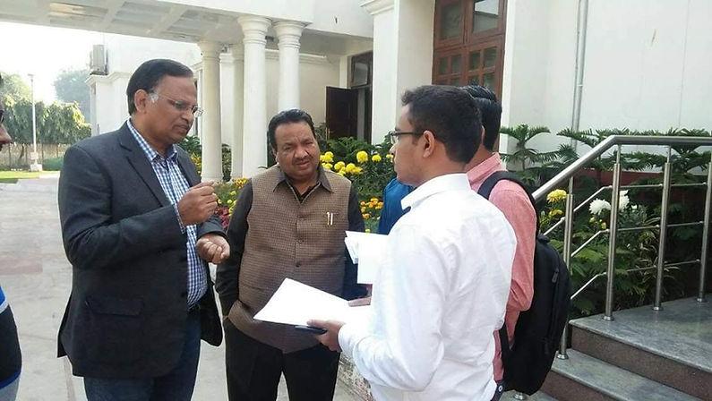 Dr Satyendra Jain Health Minister NCT De