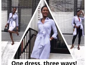A Shirt Dress Moment
