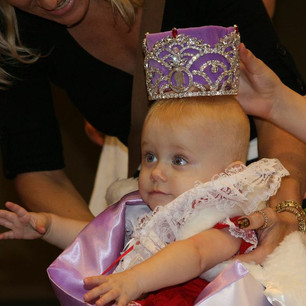 Baby Queen Crowning