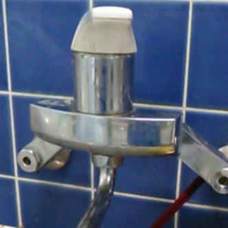 北名古屋市 台所 水栓から水が止まらない 交換