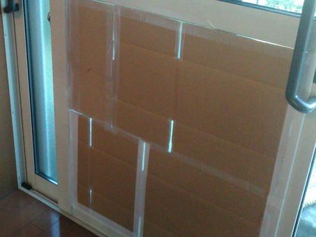 町田市 掃き出し窓 複層ガラス 割れかえ