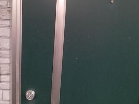 仙台市太白区 玄関 鍵開け のぞき窓から解錠