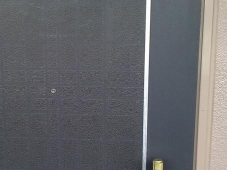 多賀城市 玄関 暗証番号式の鍵 新規取り付け