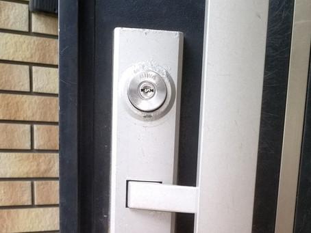 白石市 玄関 鍵折れ シリンダー交換