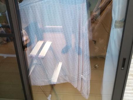 富谷市 玄関解錠 ピッキングなどであかないタイプのため窓の鍵を解錠