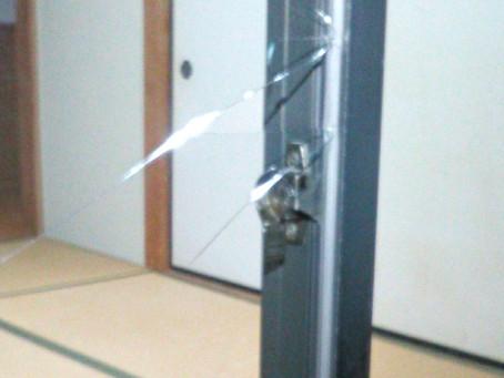 尾張旭市 ガラス 割れかえ 泥棒被害