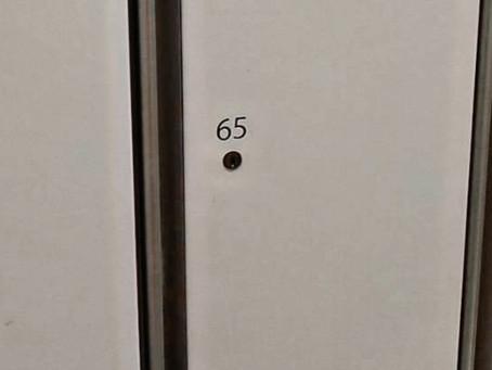 横浜市緑区 店舗 お客様用ロッカー 鍵あり解錠
