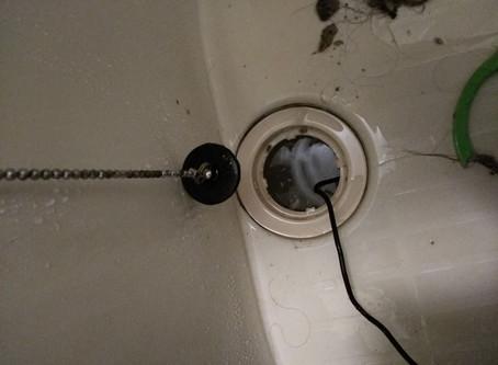 仙台市宮城野区 浴室 排水口 つまり トーラー機使用
