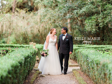 Nathan & Tamra's dreamy Charleston Wedding