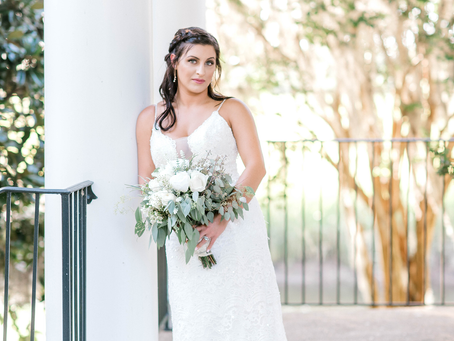 Mrs. Buffkin - Bridal Portraits