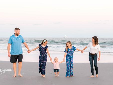 Powers Family - Sunset Beach