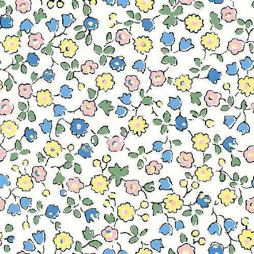 Suffolk Fields,Spring Flowers- Liberty Fabrics