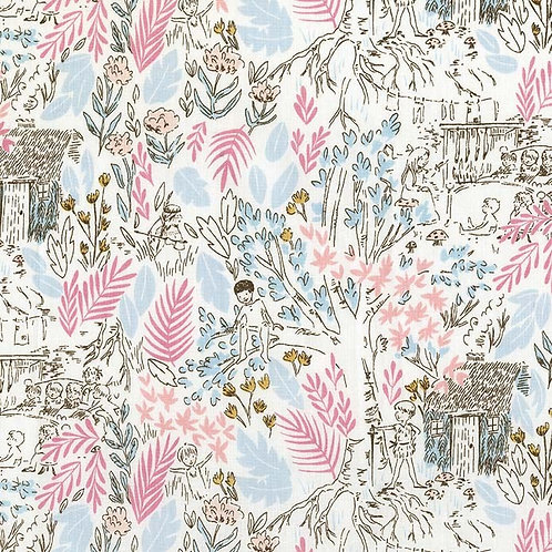 The Little House, Blossom- Michael Miller Fabrics