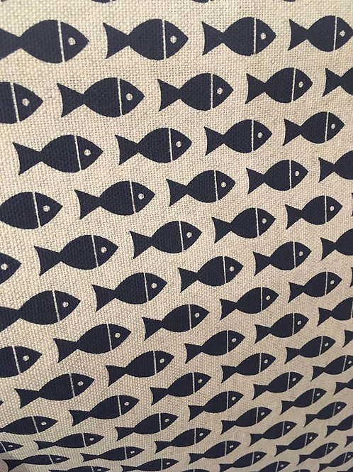 Fisher, Dark Blue- Upholstery Fabric