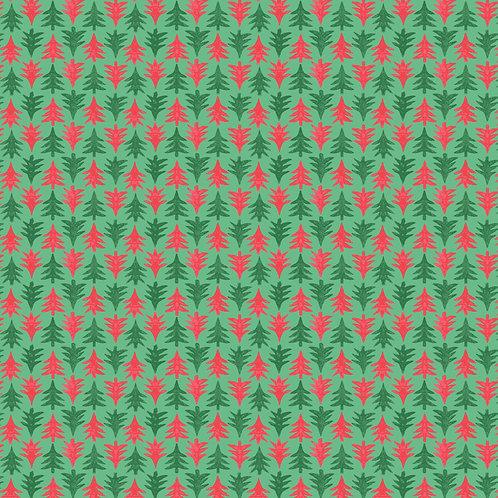 Merry & Bright Festive Fir 932A- Liberty Fabrics